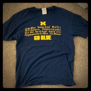 University of Michigan t-shirt